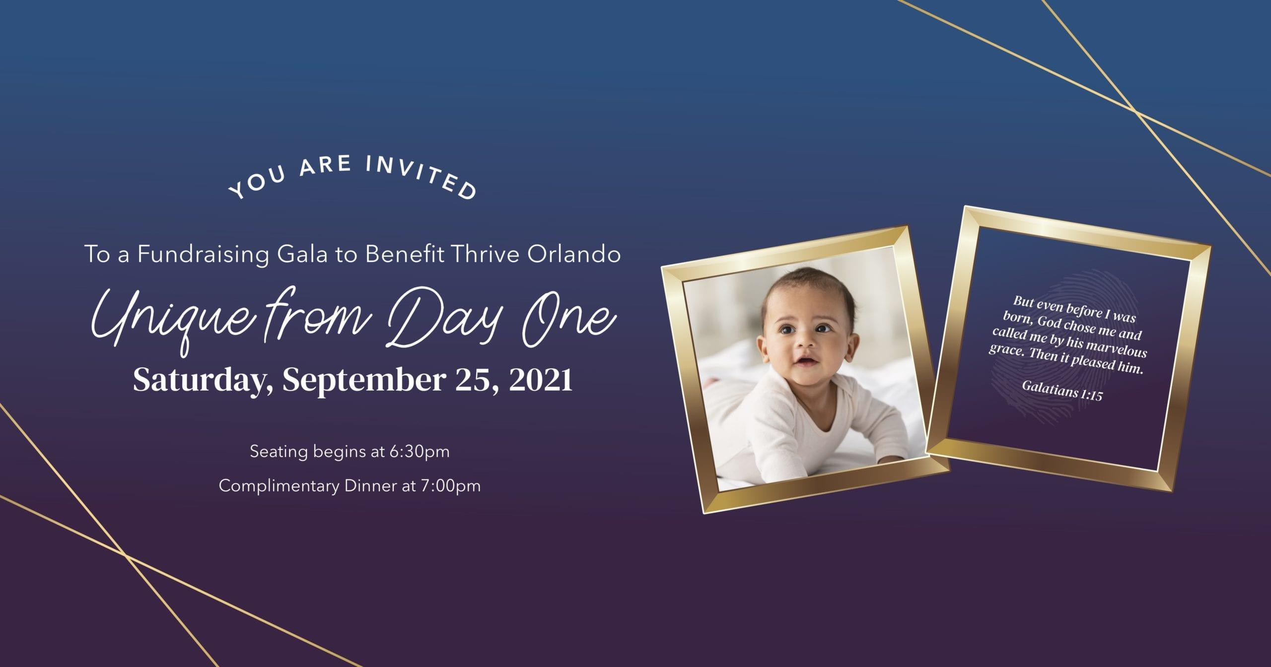 Virtual Gala Event for Thrive Orlando
